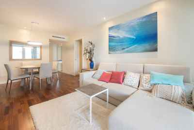 Apartment with a touristic license on the first sea line